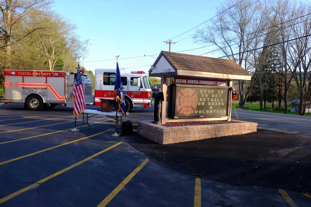 Station #2 Sign Dedication